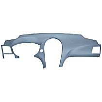 11-709LL-LBL ABS Plastic Dash Cover - Blue