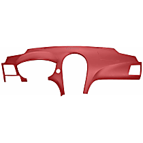 11-709LL-RD ABS Plastic Dash Cover - Red