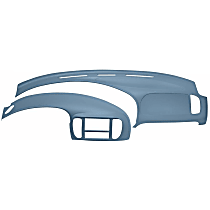 12-974C975-LBL Interior Restoration Kit - Blue, ABS Plastic, Dash Cap, Instrument Panel Cover, Direct Fit, Kit
