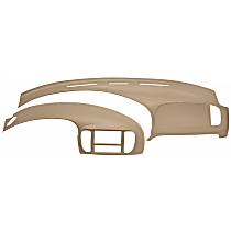 12-974C975-NTL Interior Restoration Kit - Neutral, ABS Plastic, Dash Cap, Instrument Panel Cover, Direct Fit, Kit