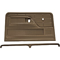 Coverlay 12-103C-LBR Interior Restoration Kit - Brown, ABS Plastic, Dash Cap, Door Panel, Direct Fit, Kit