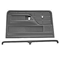 Coverlay 12-103C-NTL Interior Restoration Kit - Neutral, ABS Plastic, Dash Cap, Door Panel, Direct Fit, Kit