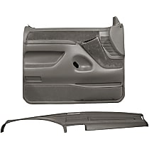 Coverlay 12-115C92F-MGR Interior Restoration Kit - Gray, ABS Plastic, Dash Cap, Door Panel, Direct Fit, Kit