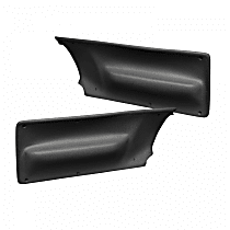 17-30-BLK Door Panel (NOTE: Insert Only) - Black, ABS Plastic, Direct Fit