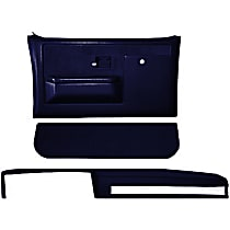 Coverlay 18-601CF-DBL Interior Restoration Kit - Blue, ABS Plastic, Dash Cap, Door Panel, Kick Panel, Direct Fit, Kit
