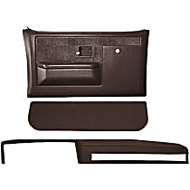 Coverlay 18-601CF-DBR Interior Restoration Kit - Brown, ABS Plastic, Dash Cap, Door Panel, Kick Panel, Direct Fit, Kit