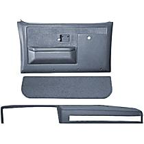 18-601CF-LBL Interior Restoration Kit - Blue, ABS Plastic, Dash Cap, Door Panel, Kick Panel, Direct Fit, Kit