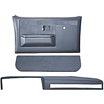 Coverlay 18-601CF-LBL Interior Restoration Kit - Blue, ABS Plastic, Dash Cap, Door Panel, Kick Panel, Direct Fit, Kit