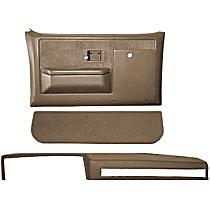 18-601CF-LBR Interior Restoration Kit - Brown, ABS Plastic, Dash Cap, Door Panel, Kick Panel, Direct Fit, Kit