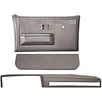 18-601CF-LGR Interior Restoration Kit - Gray, ABS Plastic, Dash Cap, Door Panel, Kick Panel, Direct Fit, Kit