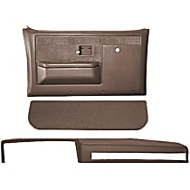 18-601CF-MBR Interior Restoration Kit - Brown, ABS Plastic, Dash Cap, Door Panel, Kick Panel, Direct Fit, Kit