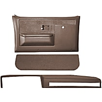 Coverlay 18-601CF-MBR Interior Restoration Kit - Brown, ABS Plastic, Dash Cap, Door Panel, Kick Panel, Direct Fit, Kit
