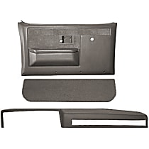 18-601CF-MGR Interior Restoration Kit - Gray, ABS Plastic, Dash Cap, Door Panel, Kick Panel, Direct Fit, Kit
