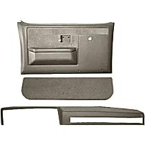 18-601CF-TGR Interior Restoration Kit - Gray, ABS Plastic, Dash Cap, Door Panel, Kick Panel, Direct Fit, Kit