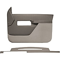 Coverlay 18-606C27F-LGR Interior Restoration Kit - Gray, ABS Plastic, Dash Cap, Door Panel, Direct Fit, Kit