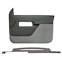 Interior Restoration Kit - Neutral, ABS Plastic, Dash Cap, Door Panel, Direct Fit, Kit
