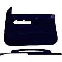 Interior Restoration Kit - Blue, ABS Plastic, Dash Cap, Door Panel, Direct Fit, Kit