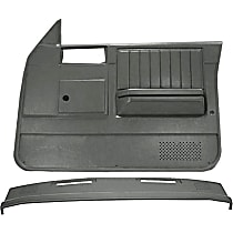 Coverlay 18-637CW-SGR Interior Restoration Kit - Gray, ABS Plastic, Dash Cap, Door Panel, Direct Fit, Kit