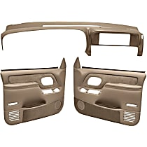 Coverlay 18-798C59F-MBR Interior Restoration Kit - Brown, ABS Plastic, Dash Cap, Door Panel, Direct Fit, Kit
