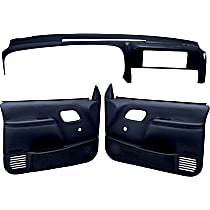 Coverlay 18-798C59N-DBL Interior Restoration Kit - Blue, ABS Plastic, Dash Cap, Door Panel, Direct Fit, Kit