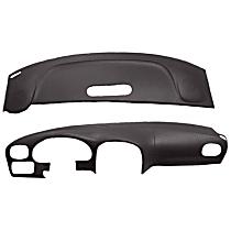 22-107C-BLK ABS Plastic Dash Cover - Black
