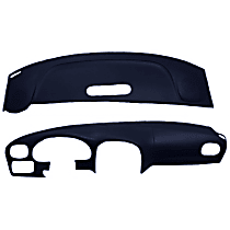 22-107C-DBL ABS Plastic Dash Cover - Blue