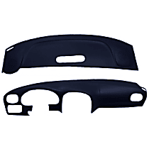 ABS Plastic Dash Cover - Blue