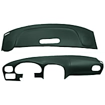 22-107C-GRN ABS Plastic Dash Cover - Green