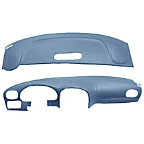 22-107C-LBL ABS Plastic Dash Cover - Blue