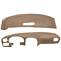 22-107C-LBR ABS Plastic Dash Cover - Brown