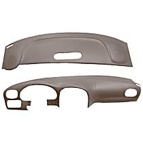 22-107C-LGR ABS Plastic Dash Cover - Gray