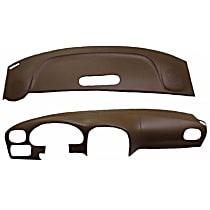 22-107C-SGR ABS Plastic Dash Cover - Gray