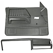 Coverlay 22-155CF-SGR Interior Restoration Kit - Gray, ABS Plastic, Dash Cap, Door Panel, Direct Fit, Kit