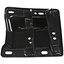 Front, Passenger Side Bumper Bracket - Plate Bracket, w/o Tow Hooks, w/ Sport Model