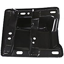 Front, Driver Side Bumper Bracket - Plate Bracket, w/o Tow Hooks, w/ Sport Model