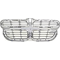 Grille Assembly - Textured Gray Shell and Insert