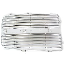 Grille Insert - Chrome, Driver Side