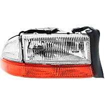 Passenger Side Headlight, With bulb(s) - (From 8-18-97)