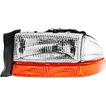 Driver Side Headlight, With bulb(s) - (From 8-18-97)