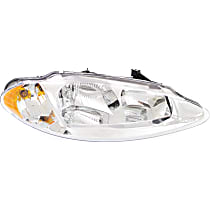 Passenger Side Headlight, With bulb(s) - Without Headlight Leveling
