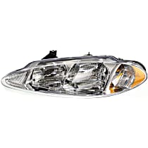 Driver Side Headlight, With bulb(s) - Without Headlight Leveling