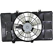OE Replacement Radiator Fan - Fits 2.0L, w/ 3-Speed Auto or Manual Trans., Single Fan type