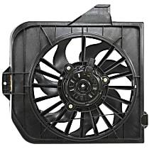 OE Replacement Radiator Fan - Passenger Side, Until 01/05