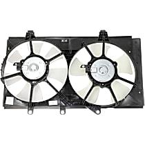 OE Replacement Radiator Fan - Fits 2.0L, w/ 4-Speed Auto Trans., Dual Fan type