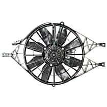 Radiator Fan Assembly, Except With Heavy Duty Engine Cooling