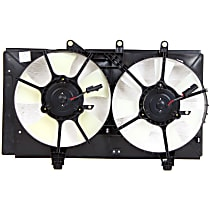 OE Replacement Radiator Fan - Fits 2.4L Turbo, Dual Fan type