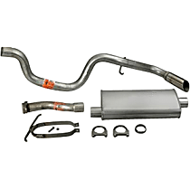 17317 Super Turbo Series - 1998-2011 Ford Ranger Cat-Back Exhaust System - Made of Aluminized Steel