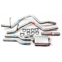 17322 Super Turbo Series - 1994-2001 Dodge Ram 1500 Cat-Back Exhaust System - Made of Aluminized Steel