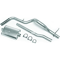 17338 Super Turbo Series - 1998-2004 Ford Cat-Back Exhaust System - Made of Aluminized Steel