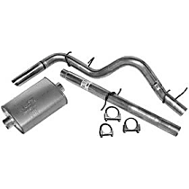 17342 Super Turbo Series - 1998-2001 Dodge Cat-Back Exhaust System - Made of Aluminized Steel